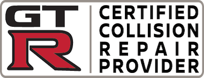 GT-R Certified Collision Care Provider Logo
